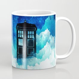 Beyond the clouds | Doctor Who Coffee Mug