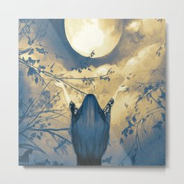 Mother Moon Metal Print