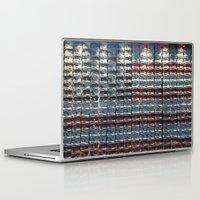 flag Laptop & iPad Skins featuring Flag by Lloyd Presbury