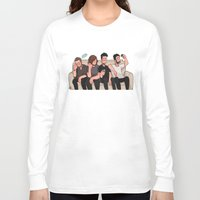 boys Long Sleeve T-shirts featuring boys by skyberia