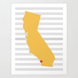 Carlsbad, California Art Print