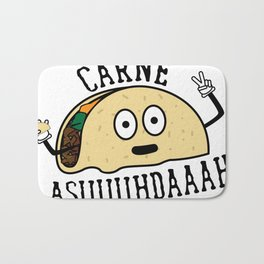 Carne Asuuuhdaaah Tacoception Bath Mat