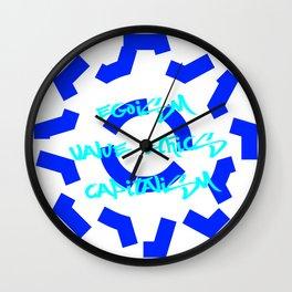 Egoism Value Ethics Capitalism Wall Clock