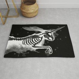 Unicorn Bunny - inverted Rug