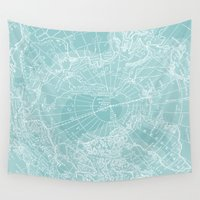 chill Wall Tapestries featuring Polar Chill by Catherine Holcombe