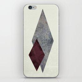 Moody Diamond iPhone Skin