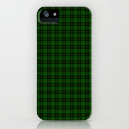 Forbes Tartan iPhone Case