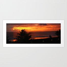 Phuket, Thailand Sunset Art Print