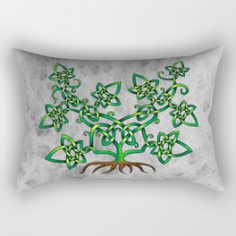 Ivy Knot Rectangular Pillow
