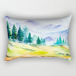 Spring Scenery #3 Rectangular Pillow