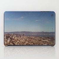 twin peaks iPad Cases featuring Twin Peaks by BarbaraJBarton