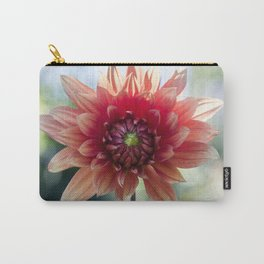 Dahlia In The Garden / 34 Carry-All Pouch