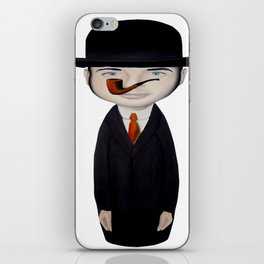 omaggio a Magritte iPhone Skin