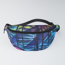 Johans Valters Expressive Firs Fanny Pack