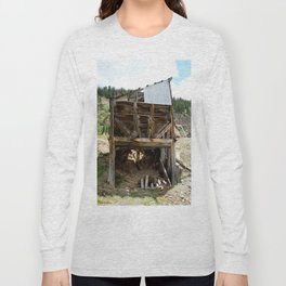 Exploring the Longfellow Mine of the Gold Rush - A Series, No. 9 of 9 Long Sleeve T-shirt