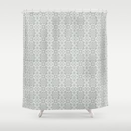 Imported Pattern Shower Curtain
