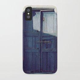 Santorini Door I iPhone Case