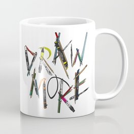 Draw More (Color) Coffee Mug