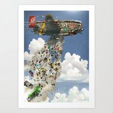 Super Galoot Art Print