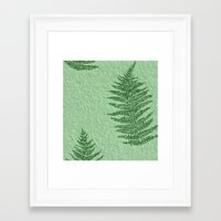 fern Framed Art Prints featuring Fern by Mr and Mrs Quirynen