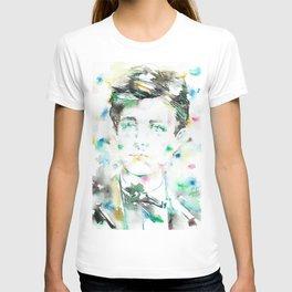 ARTHUR RIMBAUD - watercolor portrait.2 T-shirt
