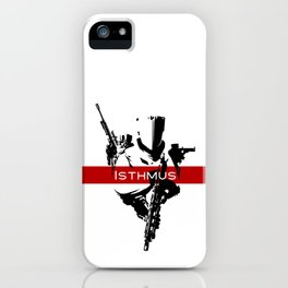Isthmus Logo iPhone Case