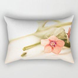 Beautiful origanum flower - Floral Photography #Society6 Rectangular Pillow