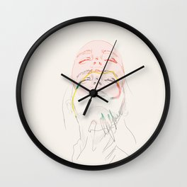 women incongruent Wall Clock
