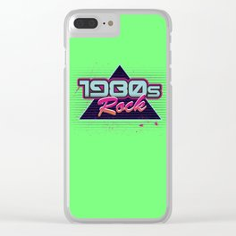 1980s Rock Clear iPhone Case