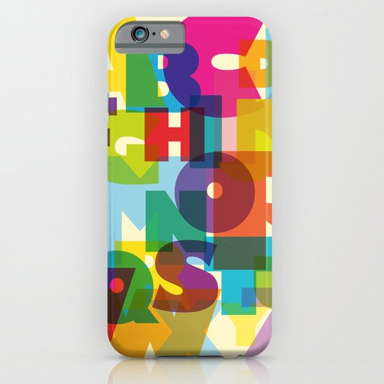 ABC in colour iPhone & iPod Case