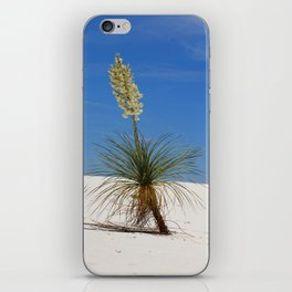 Living In The White Sand Dunes iPhone Skin