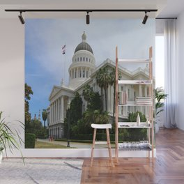 California State Capitol Wall Mural