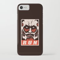 run iPhone & iPod Cases featuring Run by le.duc