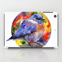 wesley bird iPad Cases featuring Bird by Anna Shell