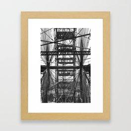 World's Columbian Exposition Ferris Wheel Framed Art Print