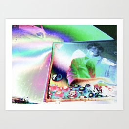 Advertising Art Print