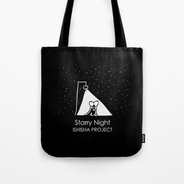Starry Night by ISHISHA PROJECT Tote Bag