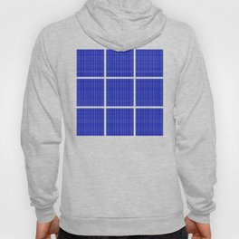 Squares of Blue Hoody