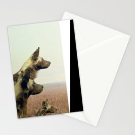 Hi, we are the wild dogs Stationery Cards