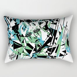 Street Diamond Rectangular Pillow