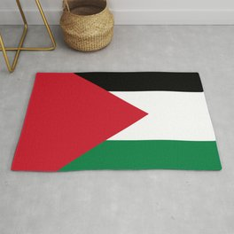 Flag of Palestine Rug