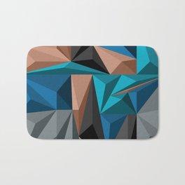 Polygon 2 Bath Mat