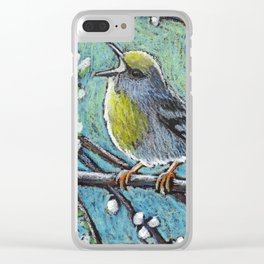 Brewster's Warbler Clear iPhone Case