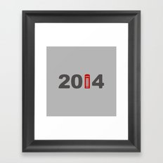 2014-London Framed Art Print