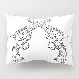 Botanical Revolvers Pillow Sham