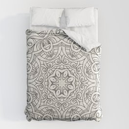 Drawing Floral Doodle G2 Comforters