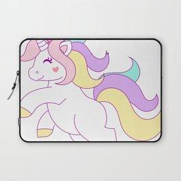 The Prettiest Unicorns Born In July Birthday Laptop Sleeve