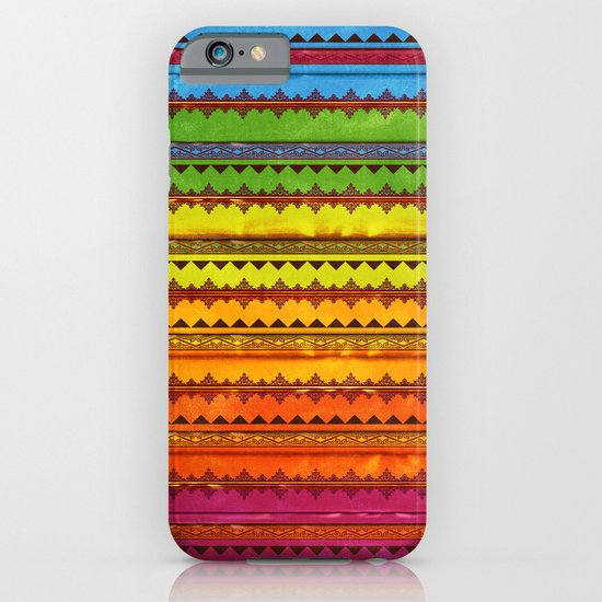 Hippie Style Pattern iPhone & iPod Case
