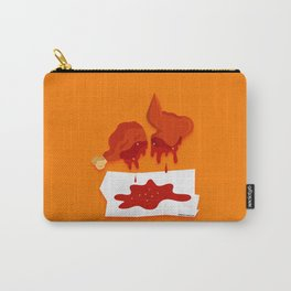 Chicken Wings with BBQ Carry-All Pouch