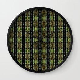 GreenPrism3 Wall Clock